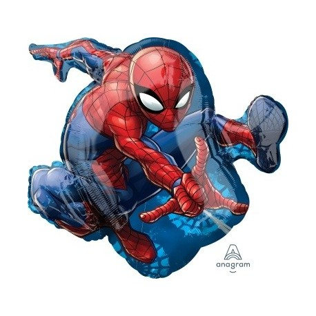 Spiderman character SuperShape Foil Balloon