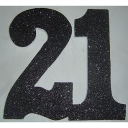 Poly 21 Black 30cm