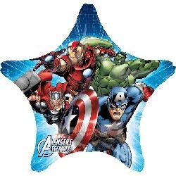 Avengers Animated Star Foil Balloon - South Africa
