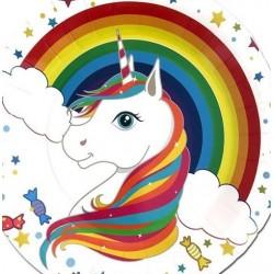 Rainbow Unicorn Serviettes (pack of 20)