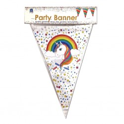 Rainbow Unicorn Flag banner