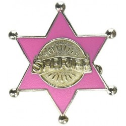 Sheriff Badge - Pink