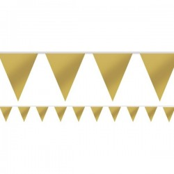 Gold Flag Bunting
