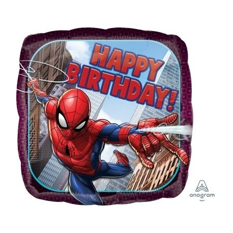 Spiderman Happy Birthday Foil Balloon - South Africa