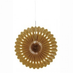 Gold Decorative Fan