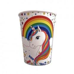 Rainbow Unicorn Cups (pack of 10)