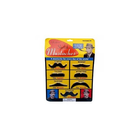 Wild West Self Moustaches