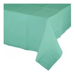 Mint Green tablecloth - www.mypartysupplies.co.za
