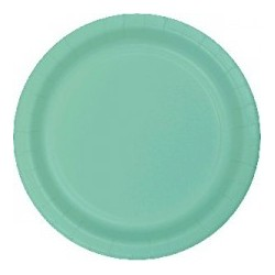 Mint Green Plates (pack of 8)