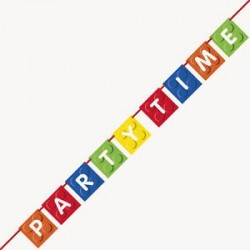 Building Blocks Banner - www.mypartysupplies.co.za