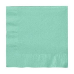 Mint Green Serviettes (pack of 20)