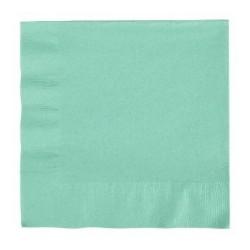 Mint Green Serviettes (pack of 20)