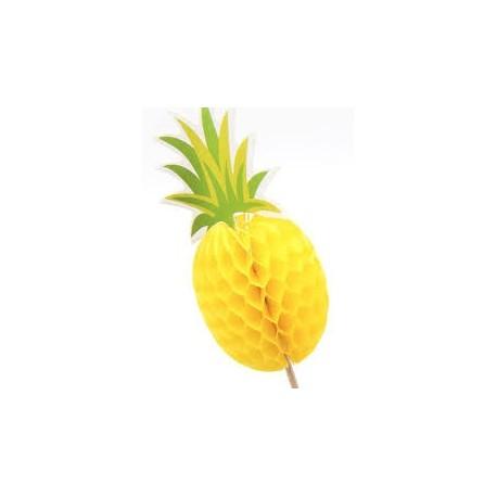 Pineapple honeycomb food picks