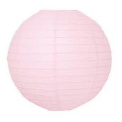 Paper Lantern Light Pink (30cm)