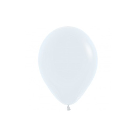 White Latex Balloon - Helium inflation available in store. My Party Supplies Broadacres