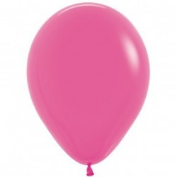Fuschia balloons - inflate your balloons in store!