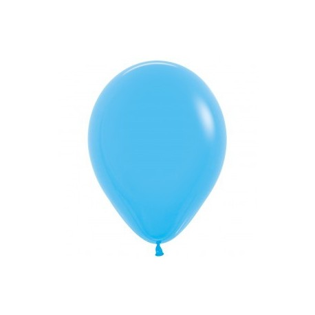 Blue Latex Balloons - Inflate your balloons in store!