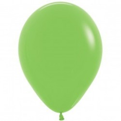 Lime Green Balloons - Inflate your balloons in store!