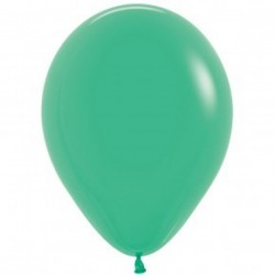 Plain Green Balloon - inflate your balloons in store!