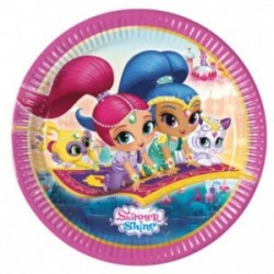 Shimmer and Shine plates - South Africa