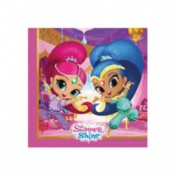 Shimmer and Shine serviettes - South Africa
