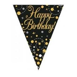 Sparkling Fizz Birthday Banner