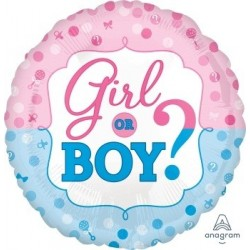 Gender Reveal Foil Balloons