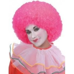 Neon Pink clown yellow