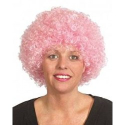 Wig clown Light Pink