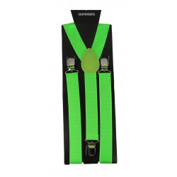 Suspender Lime Green