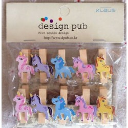Unicorn Mini Pegs | Party Supplies South Africa