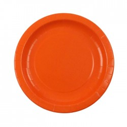 Orange Plates (pack of 8)