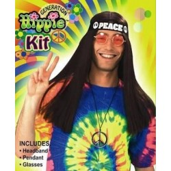Hippie Kit (headband, glasses & pendant)
