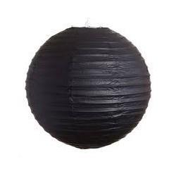 Black Paper Lantern