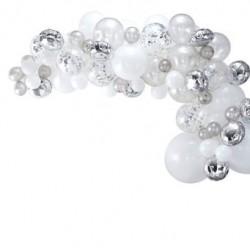 Balloon Garland Kit - Silver
