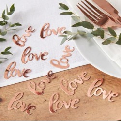 Beautiful Botanics love - Table Confetti