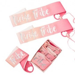 Bride Tribe sashes