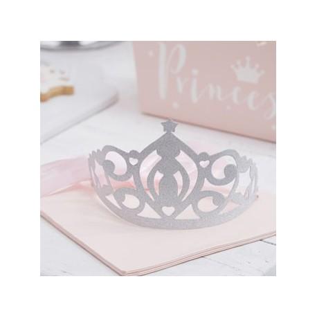 Princess Perfection silver glitter tiara