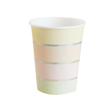 Pastel Paper Cups
