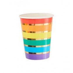 Over the Rainbow cups (pk/8)