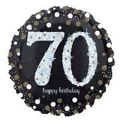 Sparkling birthday 70 foil - South Africa