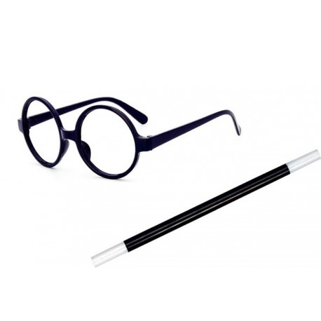 Harry Potter Glasses and Magic Wand Set