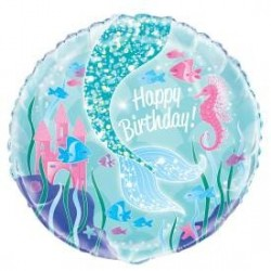 "18"" Mermaid Foil Balloon"