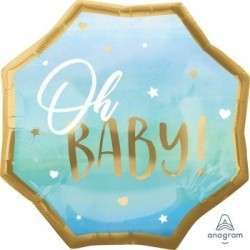 Jumbo Blue Baby Boy Foil Balloon