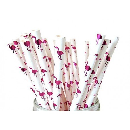 Flamingo Paper Straws | Flamingo Party Supplies South Africa