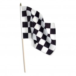 Checkered Racing Flag x 1