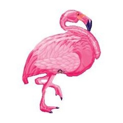 Flamingo SuperShape Foil Balloon - South Africa