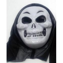 Halloween Skull mask with hood