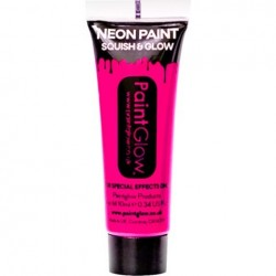Neon Pink Face Paint Tube (10ml)