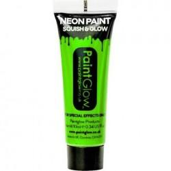 Neon Green Face Paint Tube (25ml)
